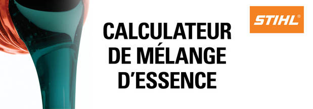 Calculateur de mélange d'essence
